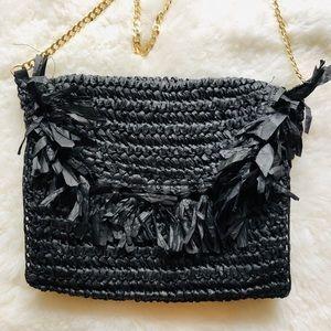 Straw Weaved Crossbody Bag